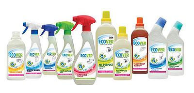 Линейка продуктов Эковер для уборки